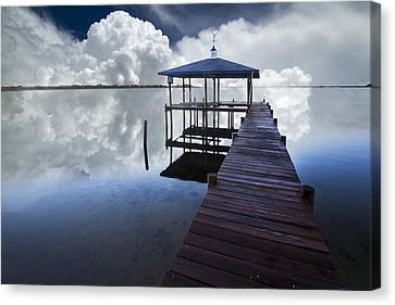 Reflections Canvas Print by Debra and Dave Vanderlaan