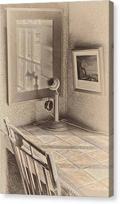 Reflections Canvas Print by Susan Candelario