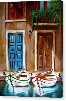 Reflexions Canvas Print by Edgar Torres