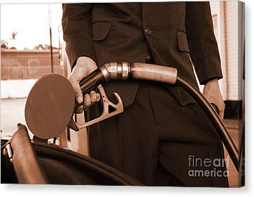 Refuelling Canvas Print by Jorgo Photography - Wall Art Gallery
