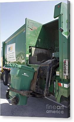 Refuse Collection Canvas Print by Mark Williamson