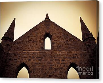 Ghostly Canvas Print - Religious Ruins by Jorgo Photography - Wall Art Gallery