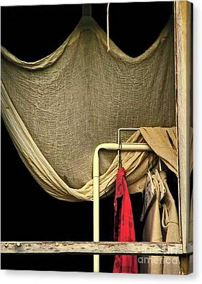 Rembrandants Closet Canvas Print by Joe Jake Pratt