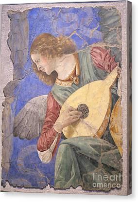 Renaissance Lute Player Canvas Print