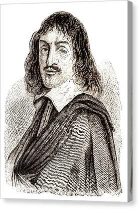 Rene Descartes Canvas Print