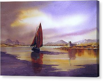 Canvas Print - Returning Home by Roland Byrne