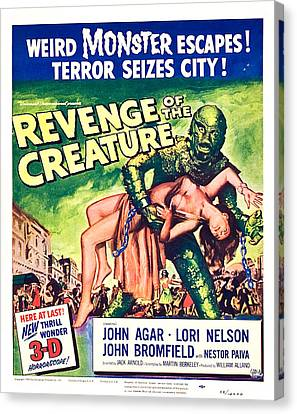 Revenge Of The Creature, 1955 Canvas Print