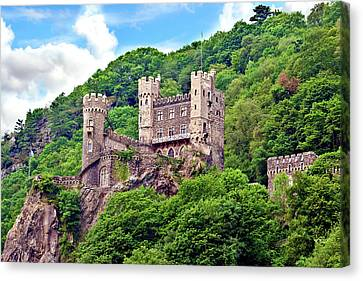 European Union Canvas Print - Rheinland-pflaz, Germany, Castle by Miva Stock