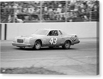 Charlotte Canvas Print - Richard Petty by Retro Images Archive