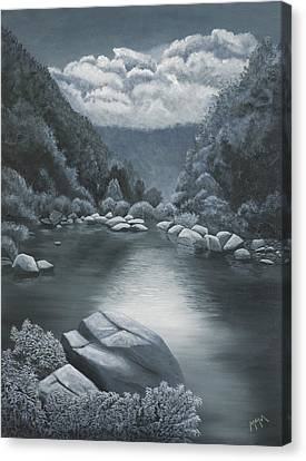 Richland Creek  Canvas Print by Garry McMichael