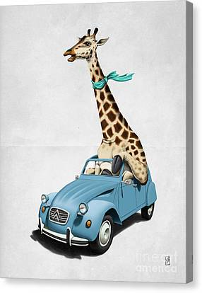 Riding High Wordless Canvas Print by Rob Snow