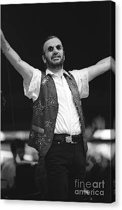 Ringo Starr And His All Starr Band Canvas Print
