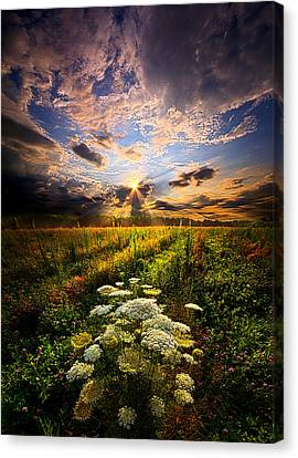 Rise And Shine Canvas Print by Phil Koch