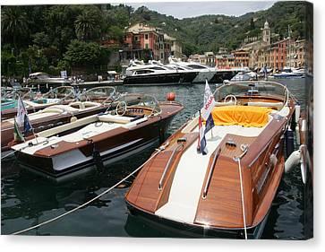 Riva Portofino Canvas Print by Steven Lapkin