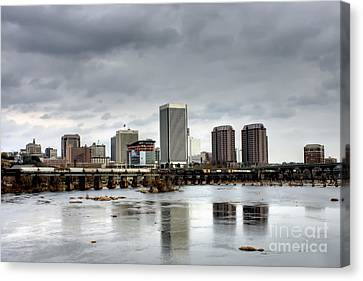 River City On The James Canvas Print