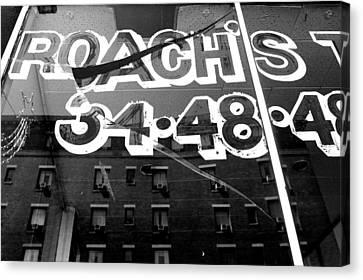 Roach's Canvas Print