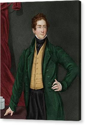Robert Peel Canvas Print