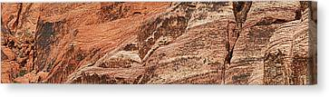 Rock Formations, Red Rock Canyon Canvas Print