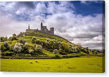 Rock Of Cashel Ireland Canvas Print by Pierre Leclerc Photography