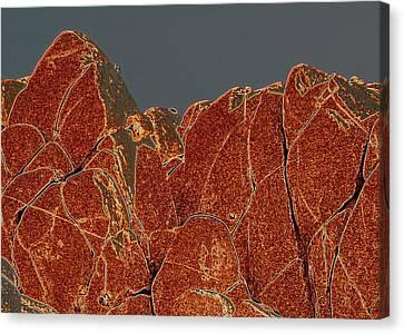 Rock Shapes 3 Canvas Print