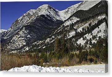 Rockies Canvas Print by Tom Wilbert