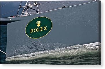 Rolex San Francisco Canvas Print by Steven Lapkin