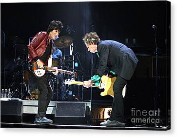 Rolling Stones Canvas Print by Concert Photos