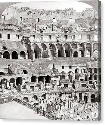 Rome Colosseum, C1904 Canvas Print