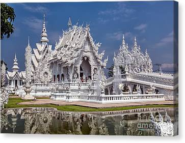 Rong Khun Temple Canvas Print by Adrian Evans