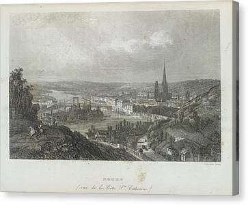Rouen Canvas Print by British Library
