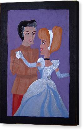 Royal Romantics Canvas Print by Yvonne  Kroupa