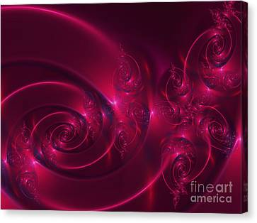 Ruby Red Canvas Print by Lena Auxier