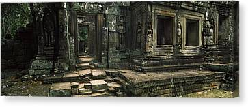 Ruins Of A Temple, Banteay Kdei Canvas Print by Panoramic Images
