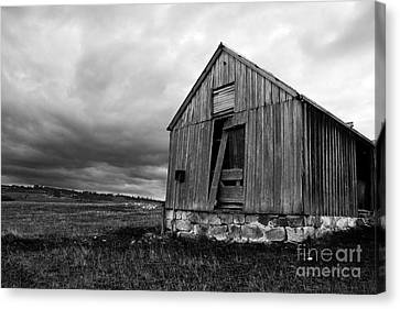 Ruins Of Abandonment Canvas Print