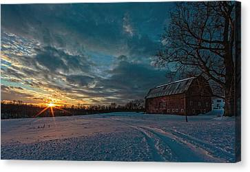 Rural Sunset II Canvas Print by Everet Regal