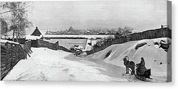 Russia Irkutsk, C1897 Canvas Print