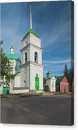 Russia, Pskovskaya Oblast, Pechory Canvas Print