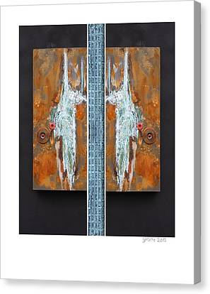 Rust Art 02 Canvas Print by Gertrude Scheffler