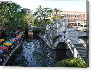 Shawn Marlow Canvas Print - Sa River Walk 2 by Shawn Marlow