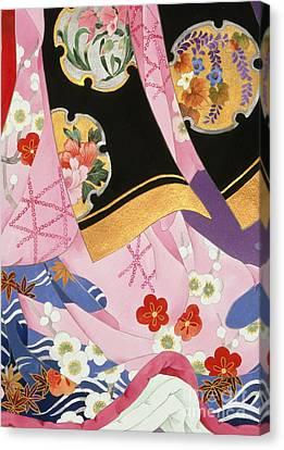 Sagi No Mai Canvas Print