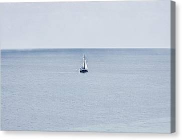 Canvas Print featuring the photograph Sail Away by Zoe Ferrie