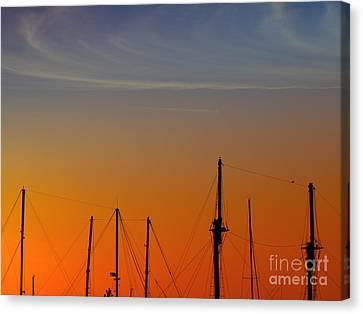 Sailing Boats Canvas Print by Stelios Kleanthous