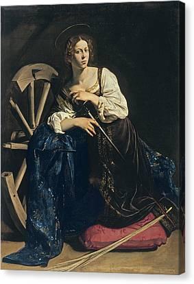 Saint Catherine Of Alexandria Canvas Print
