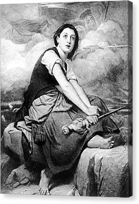 Saint Joan Of Arc (1412-1431) Canvas Print