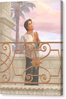 Ruiz Canvas Print - Saint Lorenzo Ruiz by John Alan  Warford