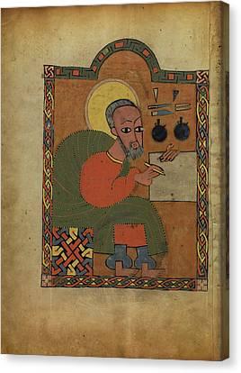 Saint Luke Unknown Ethiopia Canvas Print by Litz Collection