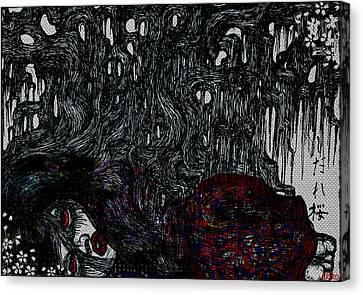 Sakura Canvas Print by Akiko Okabe