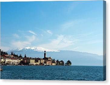 Salo, Lago Di Garda, Lombardia, Italy Canvas Print by Sergio Pitamitz