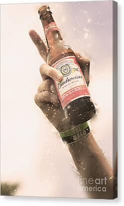 Salute To Beer Drinking Songs  Canvas Print by Jorgo Photography - Wall Art Gallery