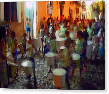 Salvador De Bahia Brasil 2006 World Cup Canvas Print